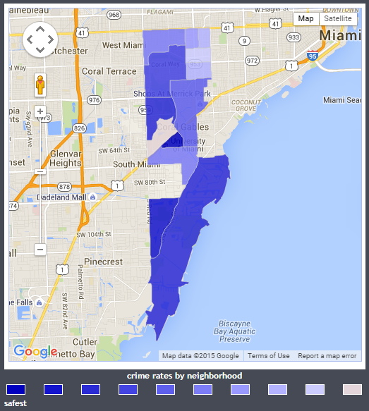 coral gables crime map