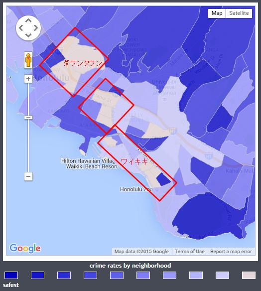 honolulu map zoom in