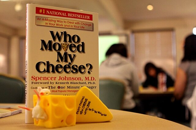 「チーズはどこへ消えた?」に学ぶ、留学の不安への対処法