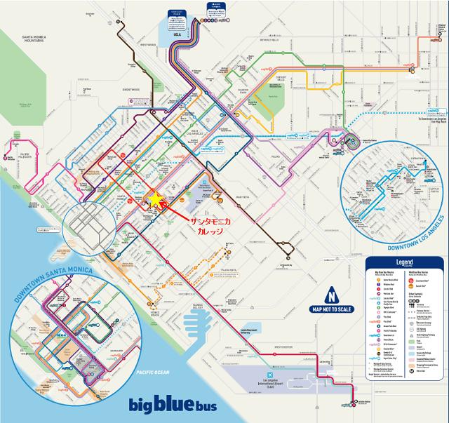 smc bus map