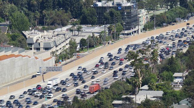 ロサンゼルス 渋滞