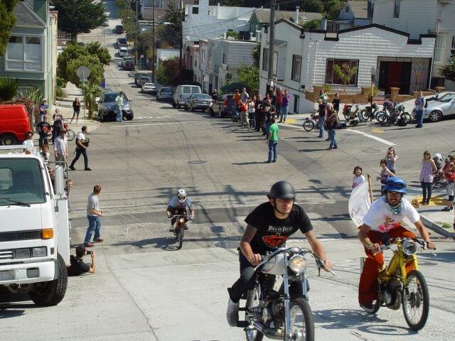 サンフランシスコ 坂道