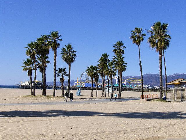 ロサンゼルス サンタモニカビーチ