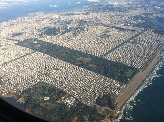 サンフランシスコ ゴールデンゲートパーク